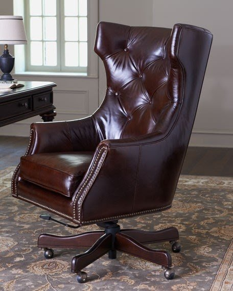 Delicieux Leather Office Chairs 2