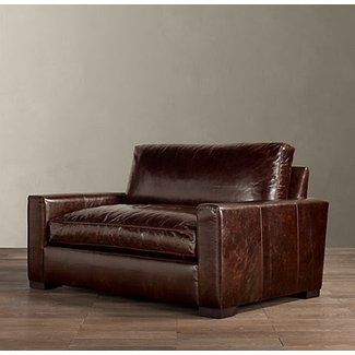 Leather sofa loveseat and chair