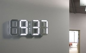 Modern led wall clock migrant resource network led wall clock foter aloadofball Image collections
