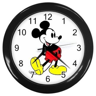 Mickey mouse wall clock 6