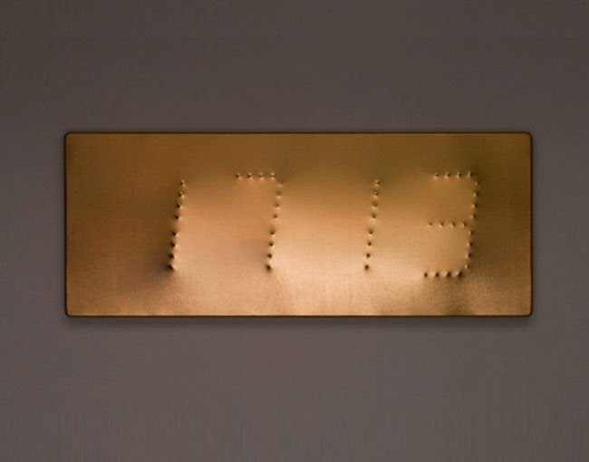Modern digital wall clock 2