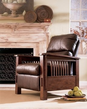Monarch Valley Harness High Leg Recliner By Ashley Furniture
