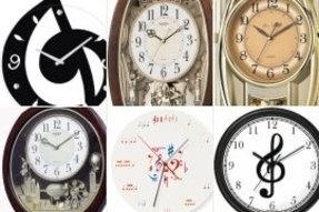 Musical wall clocks