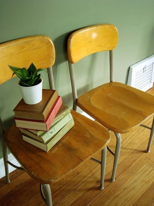 Superieur Old School Chairs 1. Vintage School Chair