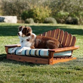 Outdoor dog furniture