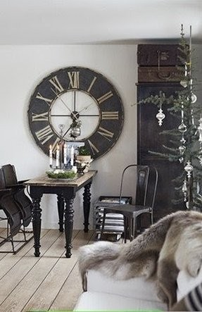Oversized wall clock 17