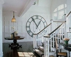Oversized wall clock 3