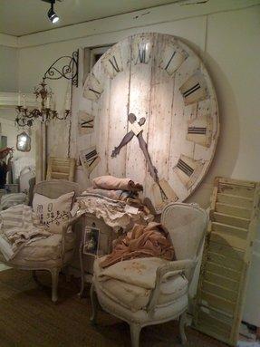 Charming Ideas Large Rustic Clock. Oversized wall clocks 1 Wall Clocks  Foter