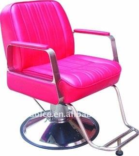 Pink salon chairs