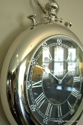 Pocket watch wall clock 1