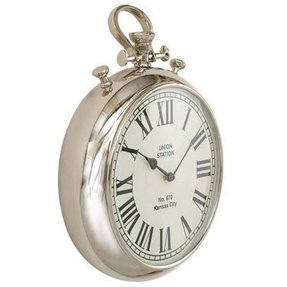 Pocket watch wall clock 35