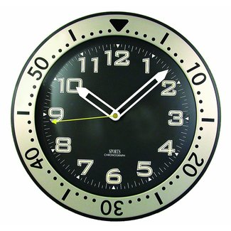 Timekeeper 515BB 11-Inch Round Glow-In-the-Dark Wall Clock