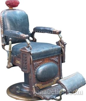 Vintage Barber Chairs 1