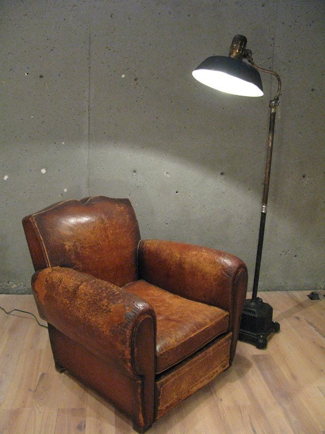 Nice Vintage Leather Club Chair