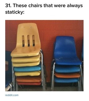 Vintage plastic chairs