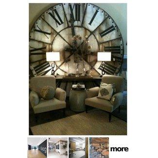 Large Vintage Wall Clock Ideas On Foter