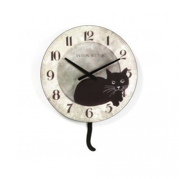 Wall Clock Clocks Cat Unique Decorative Novelty Kitchen Pendulum Watches