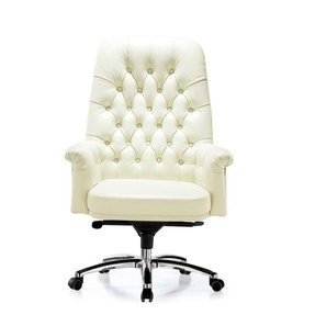 office chair white leather. White Executive Office Chair Leather G
