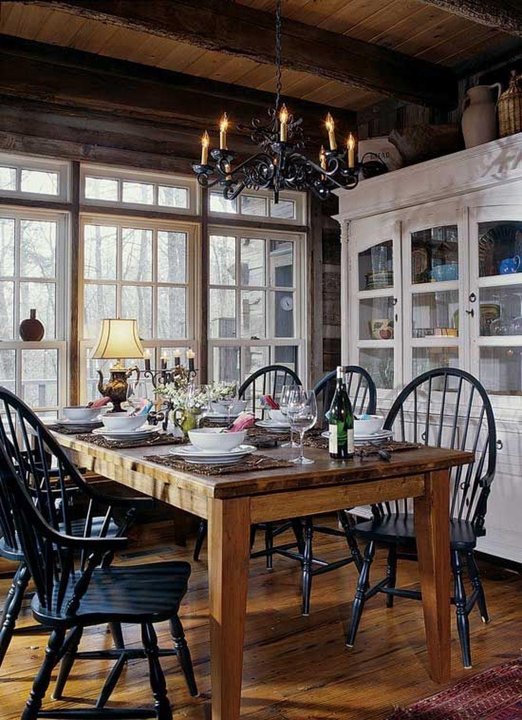 Windsor Dining Room Set 2
