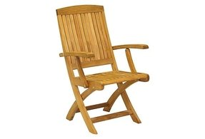 Comfortable Wood Folding Chairs Upholstered Folding