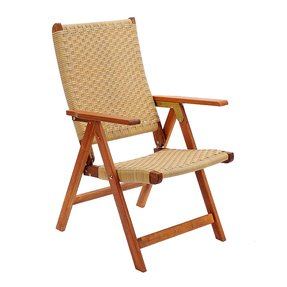 Achla Designs Poly Weave Folding Chair