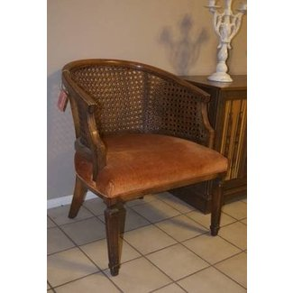 Another great cane back chair gt vintage cane back barrel