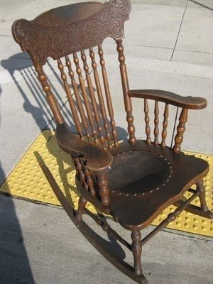 Antique Childs Rocking Chair