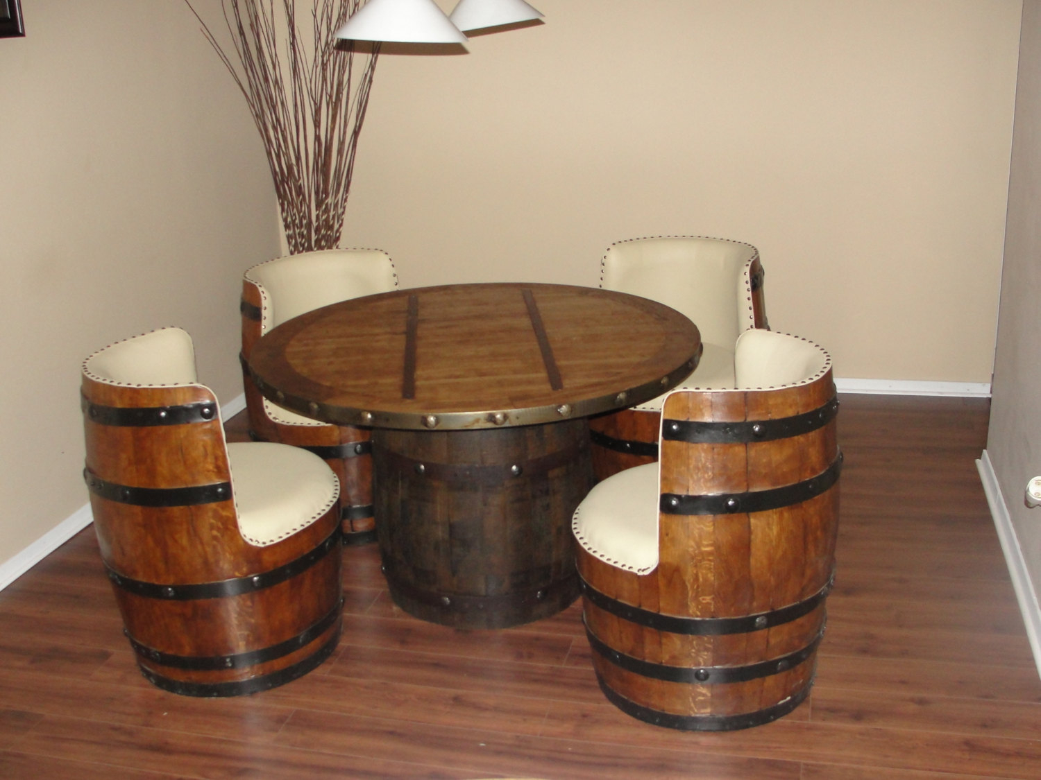 Beau Barrel Chairs   Foter
