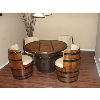 Beer barrel chairs