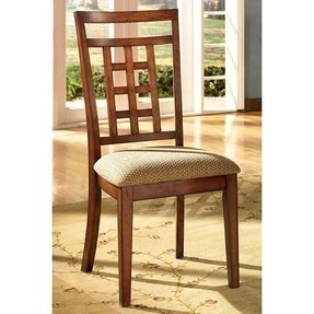 Cross Island Medium Brown Oak Stain Side Chairs (Set of Two)