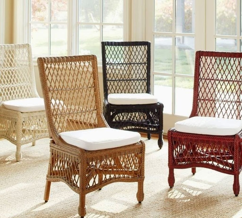 Delaney Woven Rattan Dining Chair