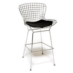 Fine Mod Wire Bar Height Stool