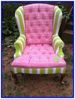 Green Wingback Chair Foter