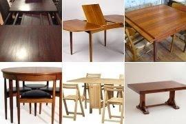 Hidden Leaf Dining Table