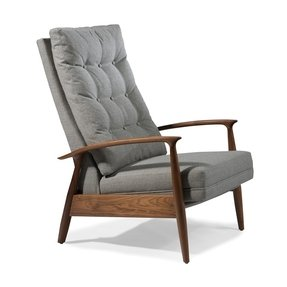 High back recliner