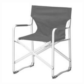 Ikea KALVO Director's Folding Armchair Aluminum Sturdy and Lightweight Chair
