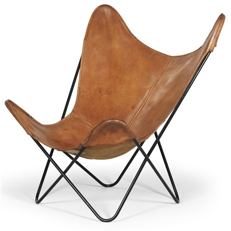 Knoll Hardoy Butterfly Chair Leather