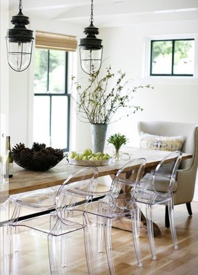 Lucite chairs 4
