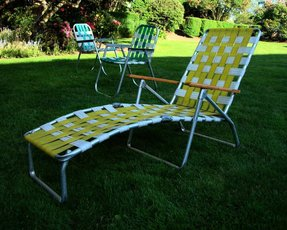 Excellent Aluminum Chaise Lounges Ideas On Foter Squirreltailoven Fun Painted Chair Ideas Images Squirreltailovenorg