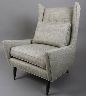 Mid century club chair