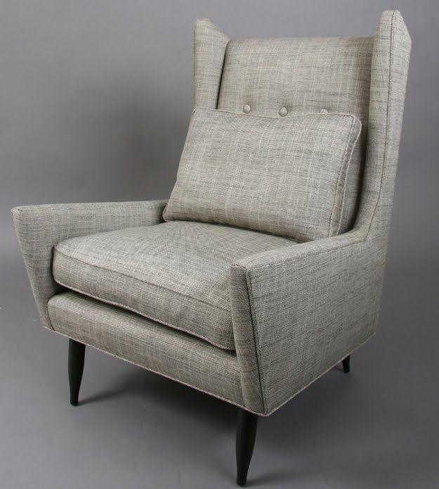 Superieur Mid Century Club Chair