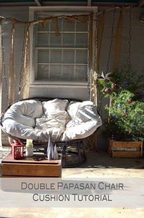 Double Papasan Chair Cushion Foter