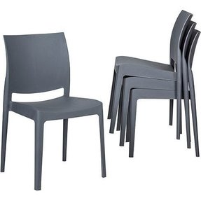Plastic outdoor chairs 1