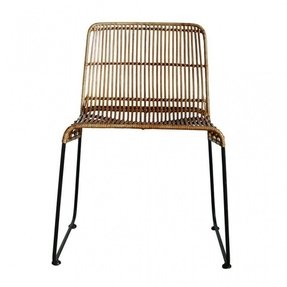Rattan dining chairs 4