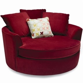 Peachy Red Swivel Chairs Ideas On Foter Theyellowbook Wood Chair Design Ideas Theyellowbookinfo