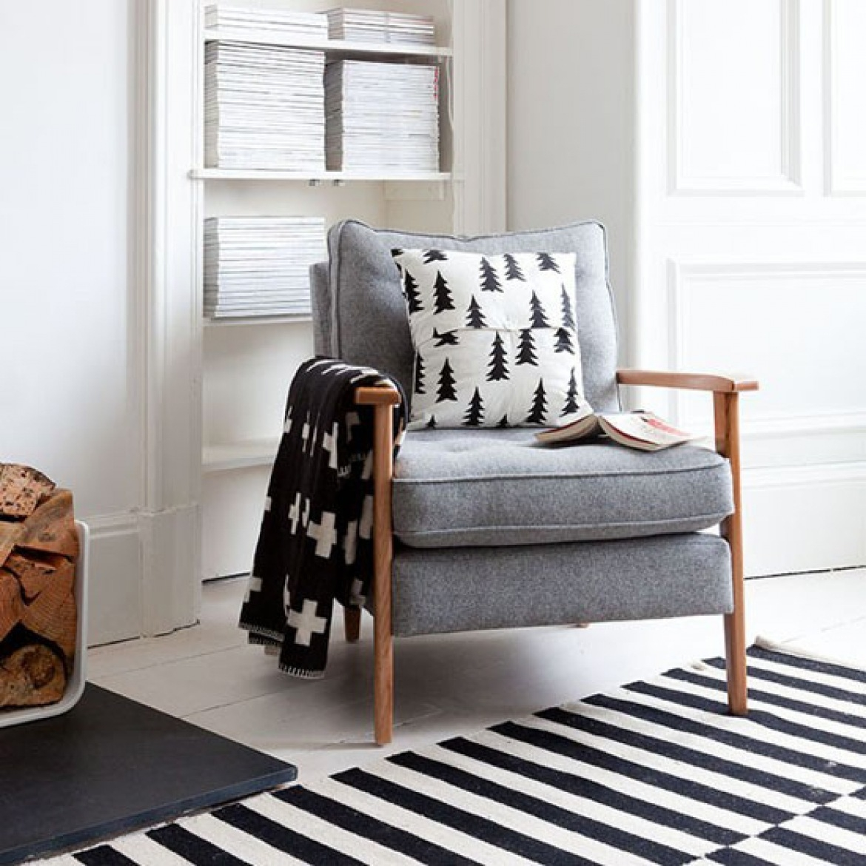 Attrayant Scandinavian Style Armchair