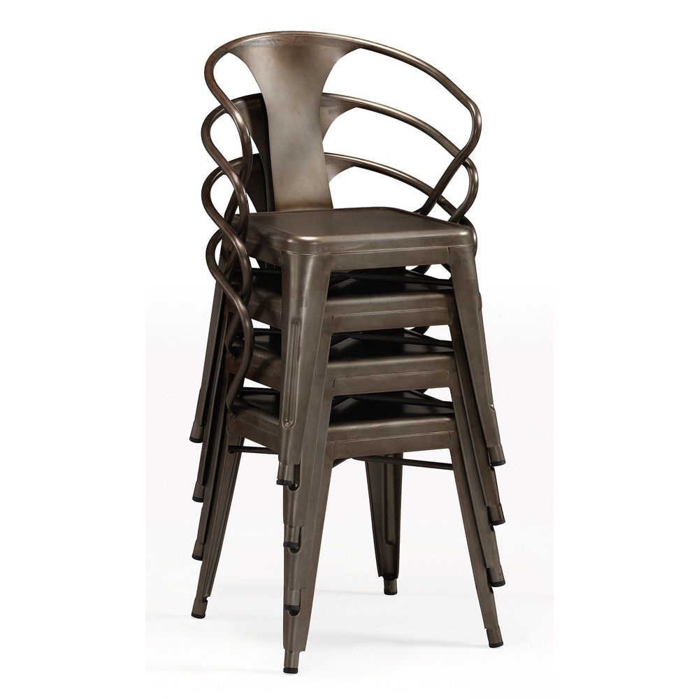 Genial Tabouret Stacking Chair (Set Of 4). This Set Of Dining Room Chairs Is