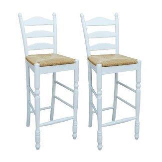 Sensational Rush Seat Bar Stools Ideas On Foter Andrewgaddart Wooden Chair Designs For Living Room Andrewgaddartcom
