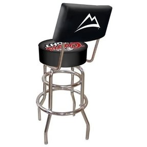 Trademark Coors Light Padded Bar Stool with Back