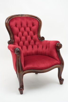 Mahogany Victorian Arm Chair Foter